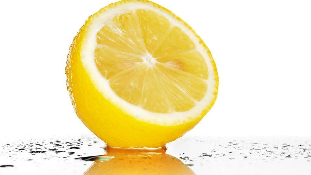 quelle est la couleur du citron