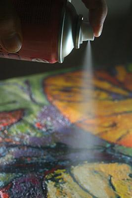 Comment vernir une toile, un tableau