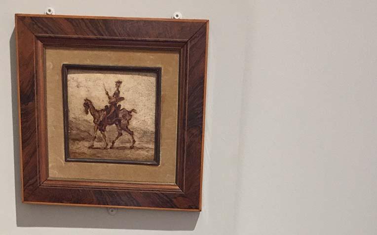 Daumier H Don Quichotte à cheval