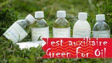 Photo of Test : Green for oil de Sennelier
