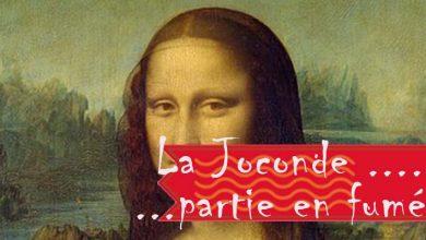 Photo of La Joconde … partie en fumée