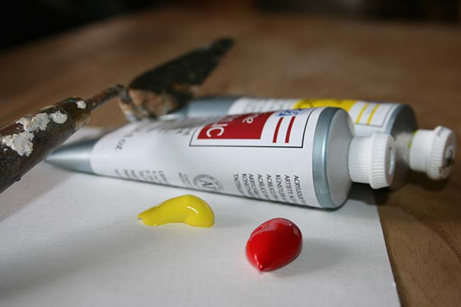 Peinture au couteau