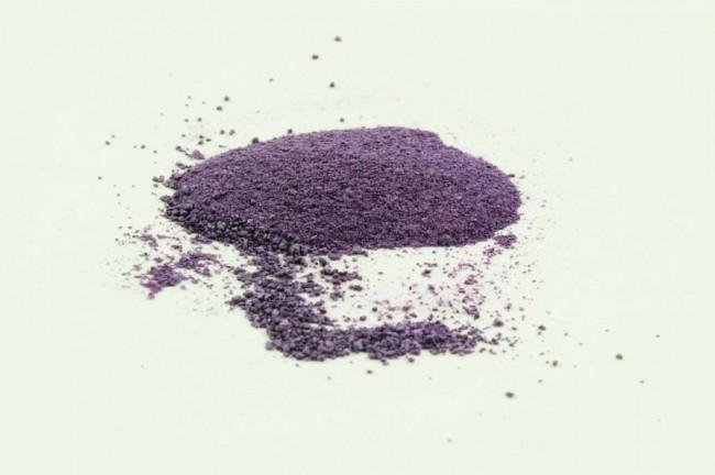La couleur pourpre ou violette