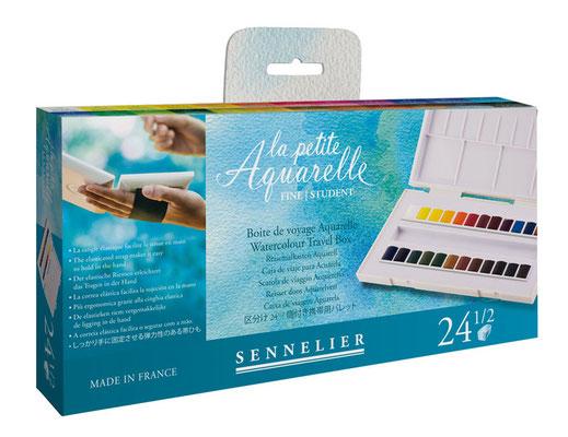 Photo of La petite Aquarelle Test nouvelle boîte de voyage SENNELIER