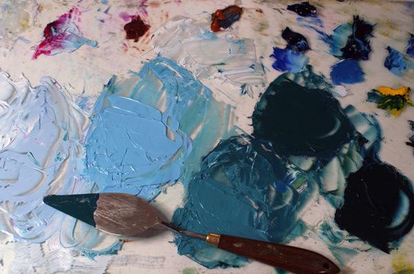 Comment utiliser un couteau à palette pour la peinture à l'huile